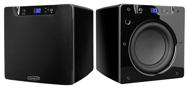 Velodyne SPL800 Ultra schwarz/weiß hochglanz